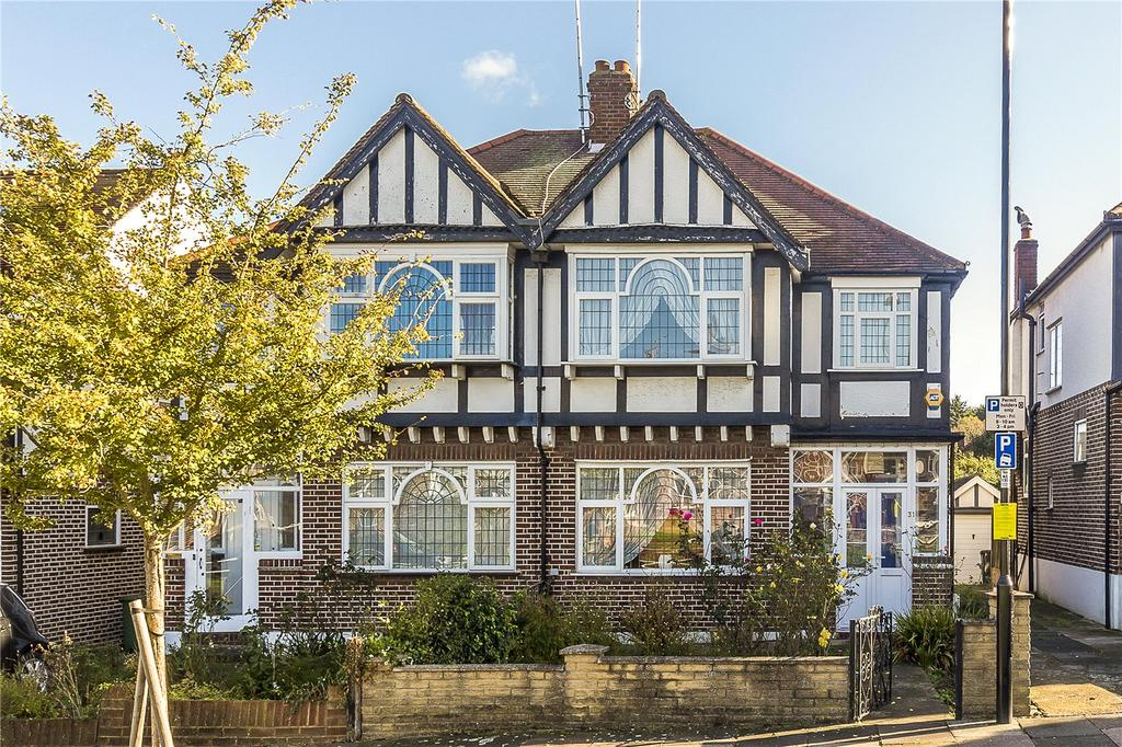 3 Bedrooms Semi Detached House for sale in Clarendon Road, London, W5