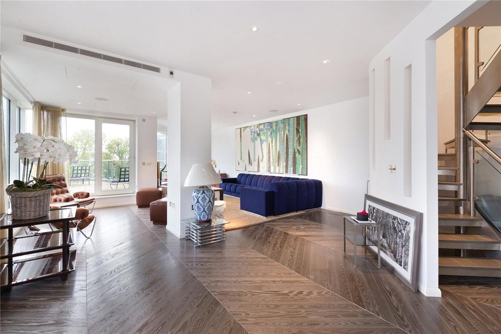 3 Bedrooms Penthouse Flat for sale in Dolphin House, Imperial Wharf, Lensbury Avenue, London, SW6