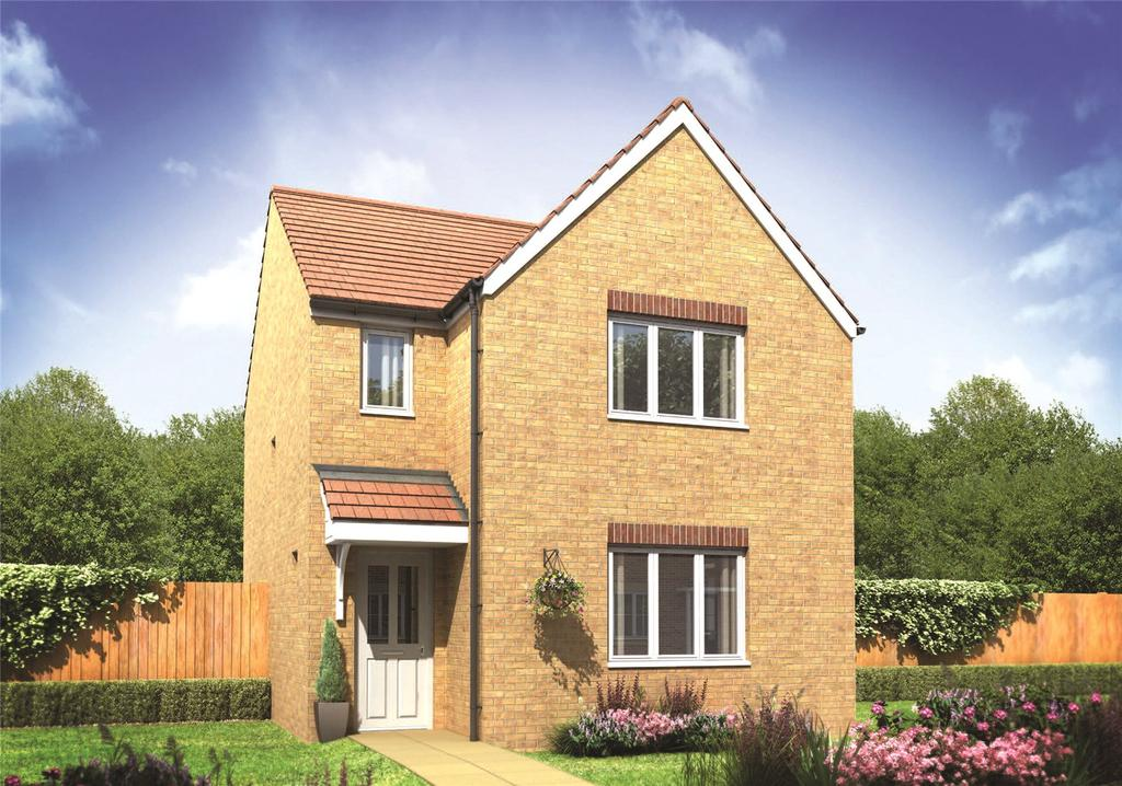 3 Bedrooms Detached House for sale in Plot 382 Millers Field, Manor Park, Sprowston, Norfolk, NR7