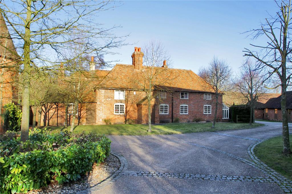 5 Bedrooms Detached House for sale in Pett Bottom, Canterbury, Kent, CT4