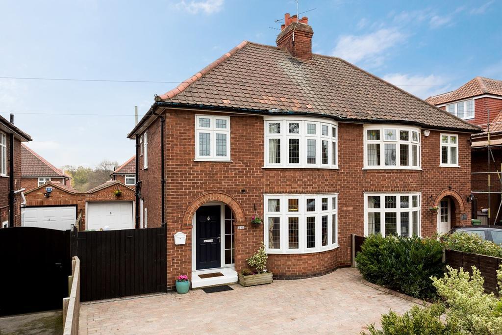 3 Bedrooms Semi Detached House for sale in Bishopthorpe Road, York, YO23