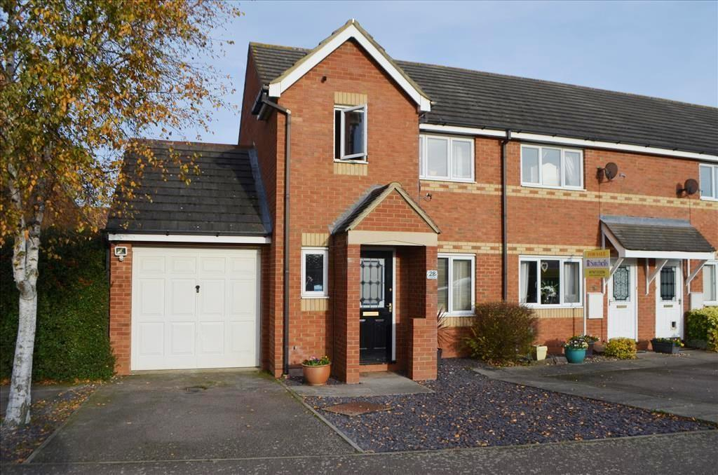 3 Bedrooms End Of Terrace House for sale in Sorrell Way, Biggleswade, SG18
