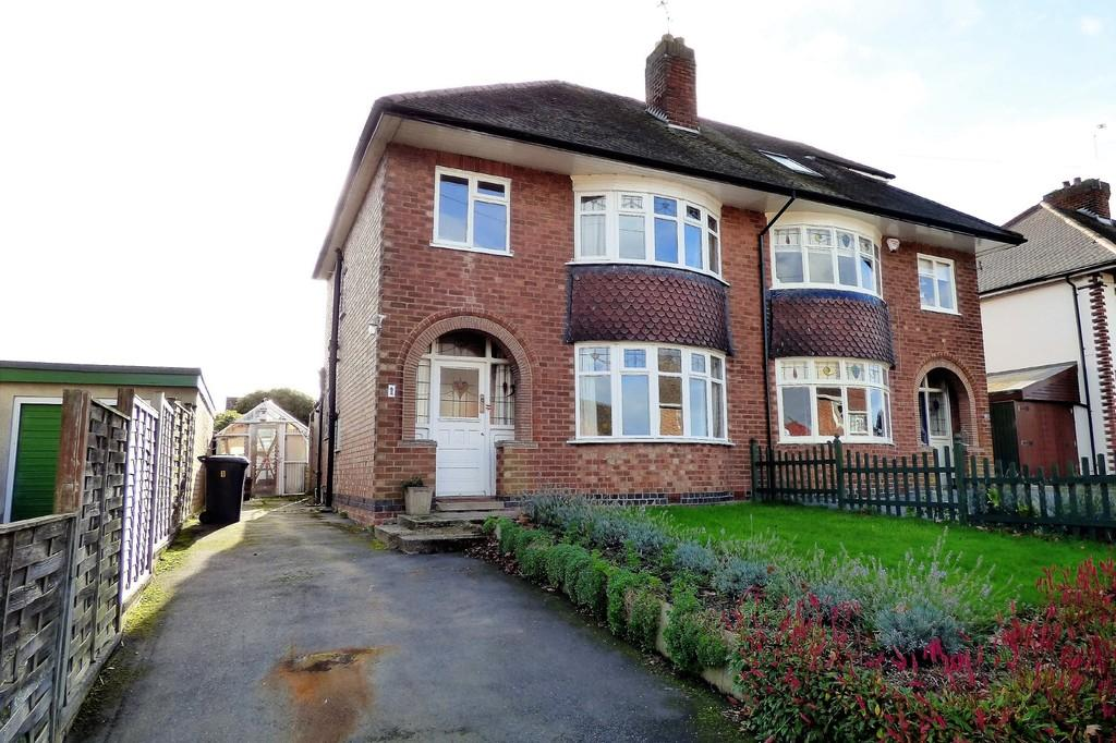 3 Bedrooms Semi Detached House for sale in Fairfield Avenue, Rolleston-on-Dove
