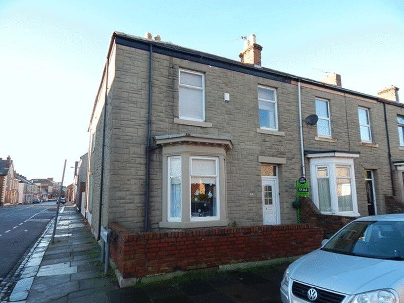 2 Bedrooms End Of Terrace House for sale in Stanley Street, Blyth