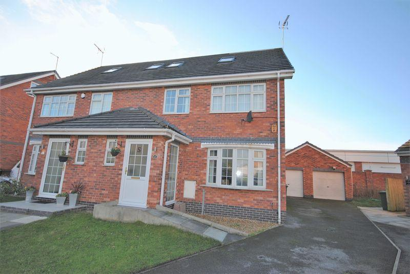 4 Bedrooms Semi Detached House for sale in Sandhills View, Wallasey Village