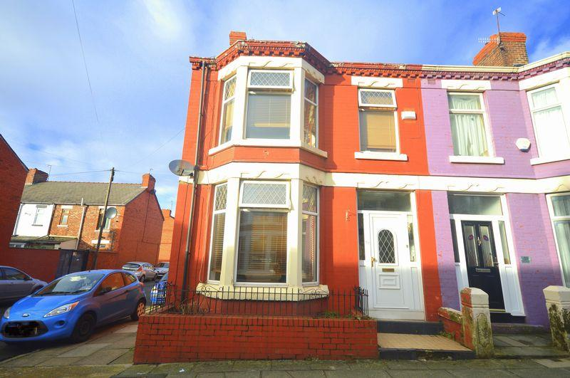 3 Bedrooms End Of Terrace House for sale in Fallowfield Road, Wavertree