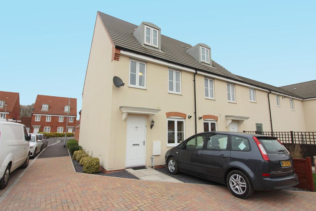 3 Bedrooms End Of Terrace House for sale in Sharpham Road, Glastonbury