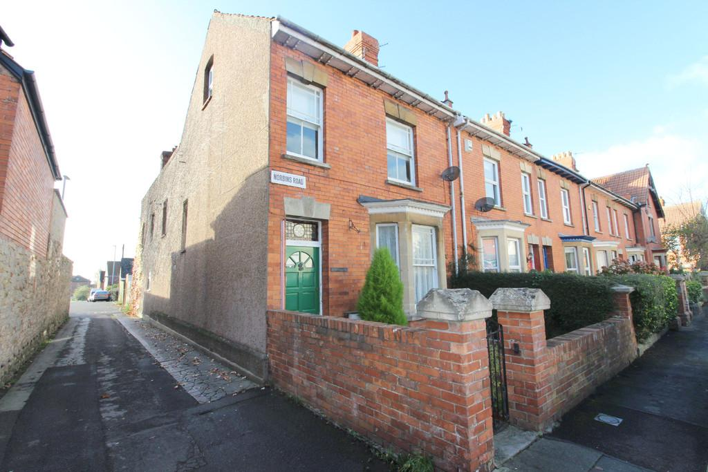 4 Bedrooms End Of Terrace House for sale in Norbins Road, Glastonbury