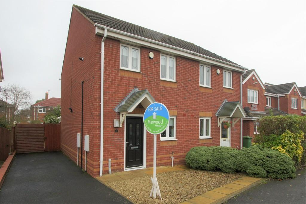 2 Bedrooms Semi Detached House for sale in Newmarket Road, Norton Canes
