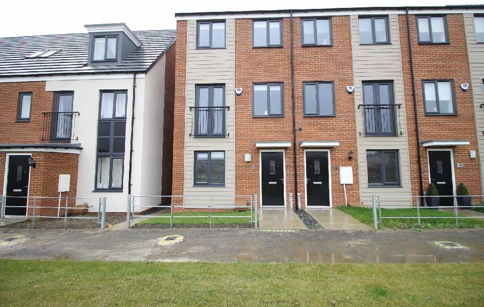3 Bedrooms Town House for sale in Elmwood Park Court, Newcastle Upon Tyne