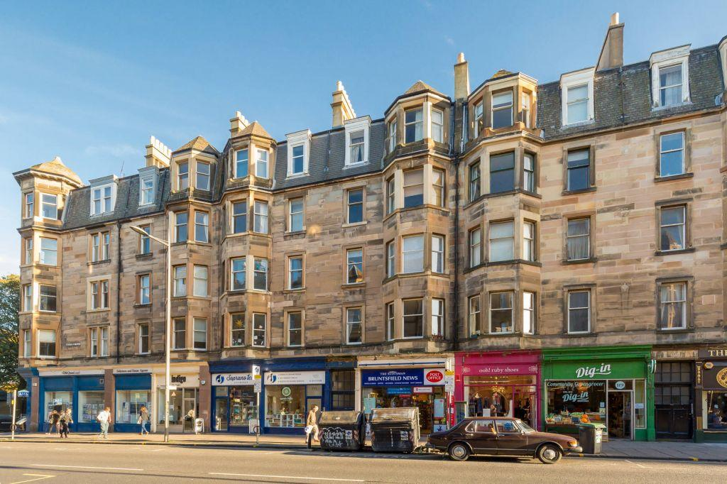 2 Bedrooms Flat for sale in 113 1F1 Bruntsfield Place, Edinburgh, EH10 4EQ