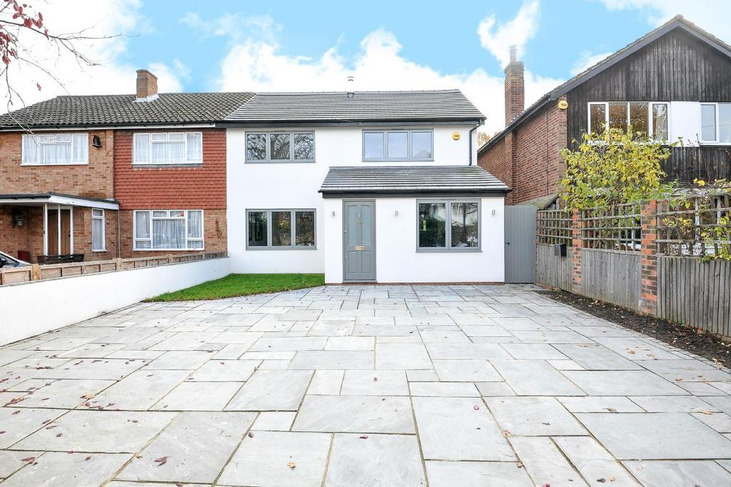 5 Bedrooms Semi Detached House for sale in Thetford Road, New Malden