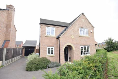 4 bedroom detached house for sale - Terry Smith Avenue, Rothwell, Kettering