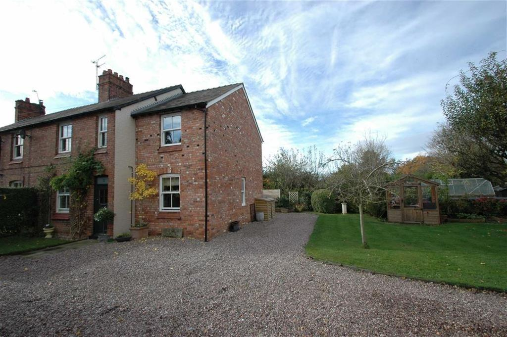 3 Bedrooms End Of Terrace House for sale in Bodafon Villas, Whitchurch Road, Christleton, Chester