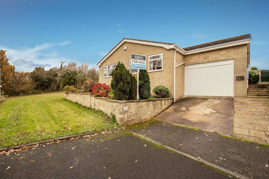 3 Bedrooms Detached Bungalow for sale in Wharncliffe Close Barnsley South Yorkshire