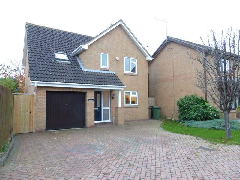 4 Bedrooms Detached House for sale in St Marks Close, Evesham