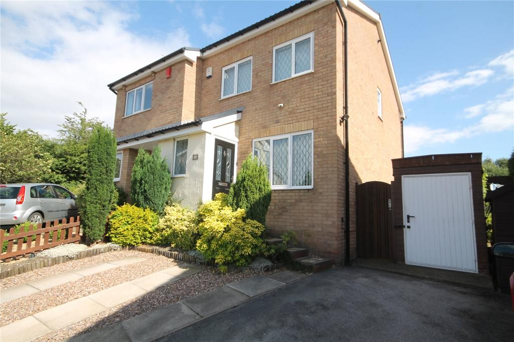 3 Bedrooms Semi Detached House for sale in Westbury Close, Redbrook, Barnsley, S75