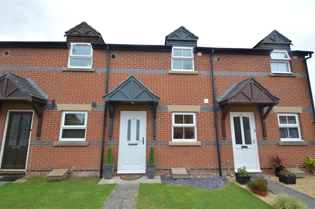 1 Bedroom Terraced House for sale in 28 Glendower Court, Greenfields, Shrewsbury, SY1 2RG
