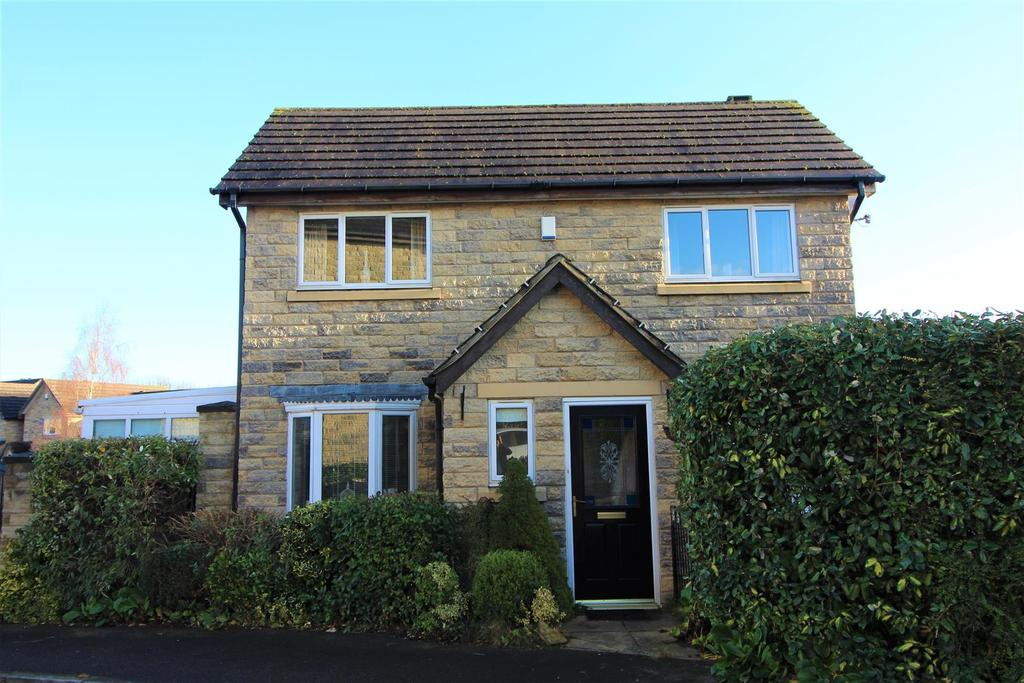 3 Bedrooms Semi Detached House for sale in Bromley Bank, Denby Dale, Huddersfield, HD8 8QG
