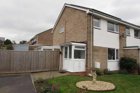 3 bedroom end of terrace house for sale - Hollymount Close, Exmouth