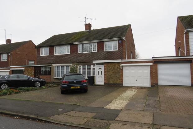 3 Bedrooms Semi Detached House for sale in Harlestone Road, Duston, Northampton, NN5