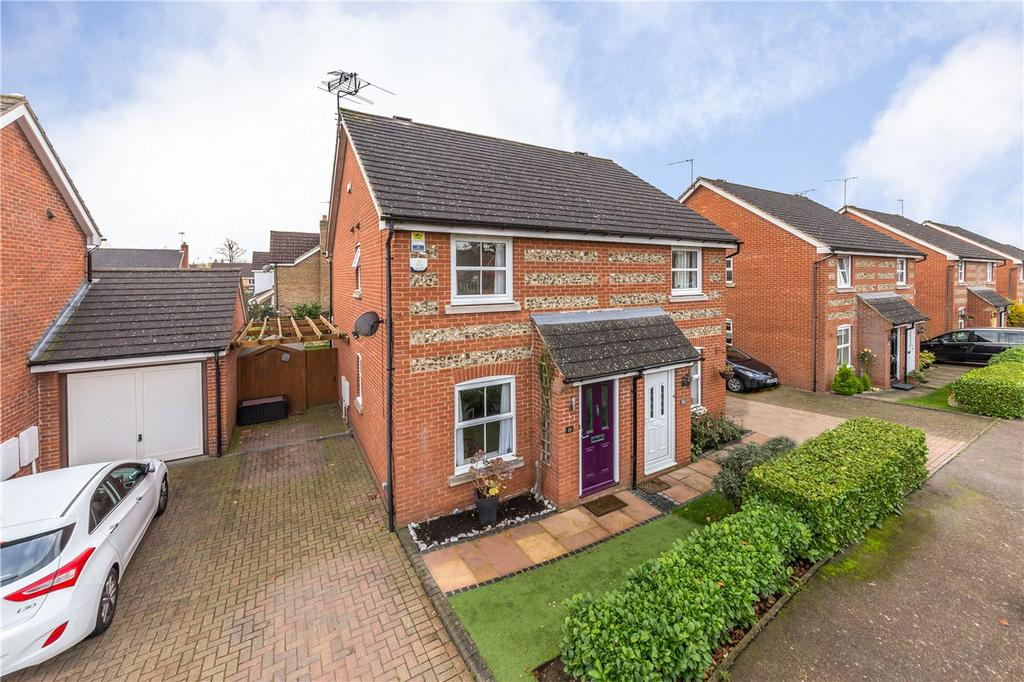 2 Bedrooms Semi Detached House for sale in Puddingstone Drive, St. Albans, Hertfordshire