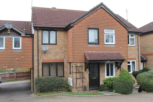 3 Bedrooms Terraced House for sale in POMEROY GROVE, Bushmead, LU2