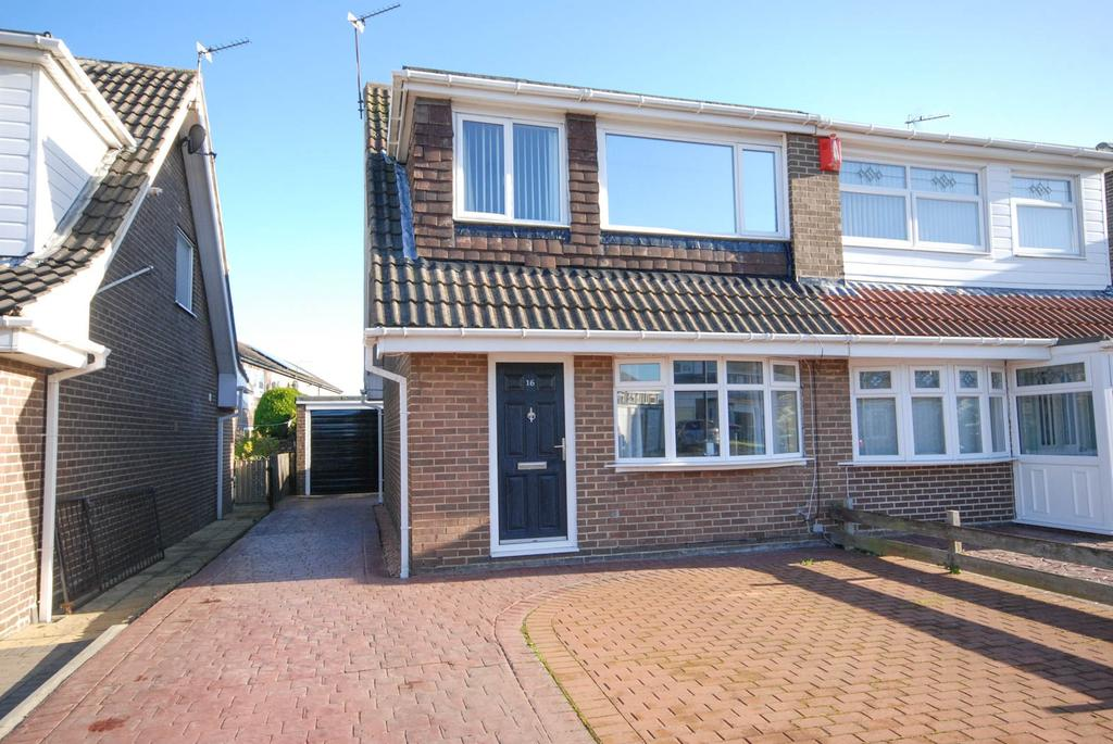 3 Bedrooms Semi Detached House for sale in Goodwood, Killingworth