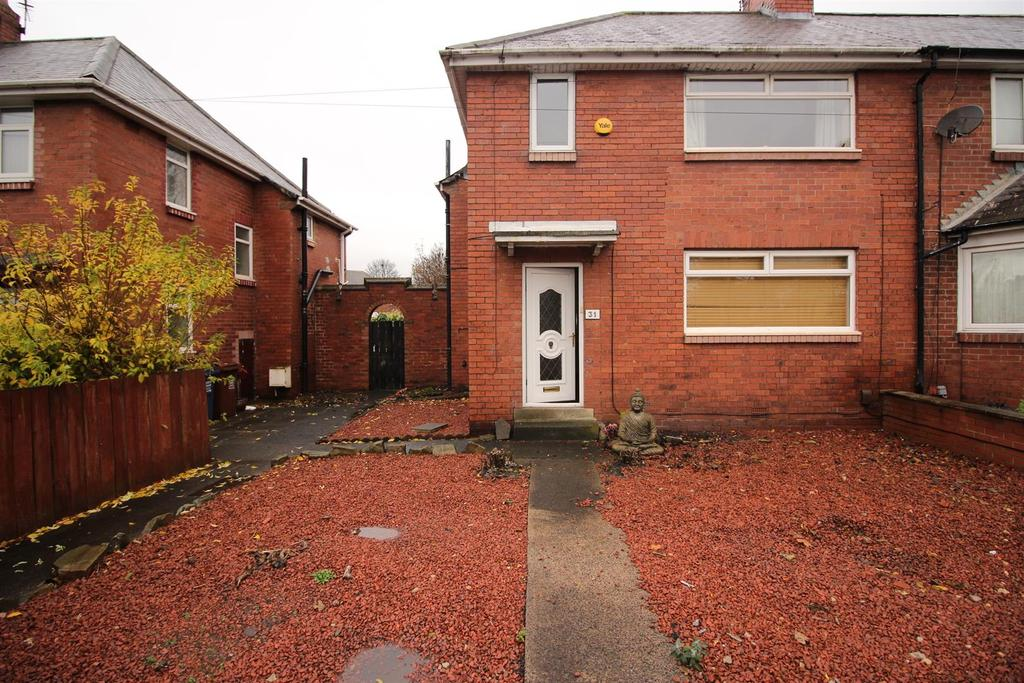 3 Bedrooms End Of Terrace House for sale in Benton Road, High Heaton, Newcastle Upon Tyne