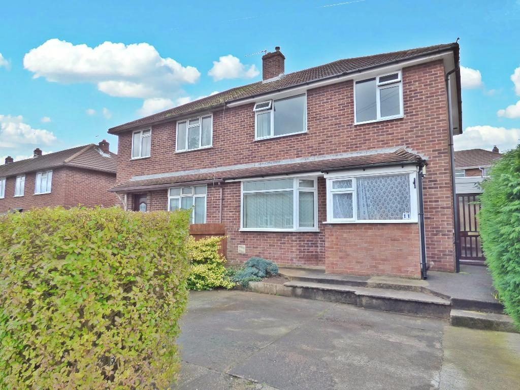 3 Bedrooms Semi Detached House for sale in Emlyn Avenue, Whitecross, Hereford