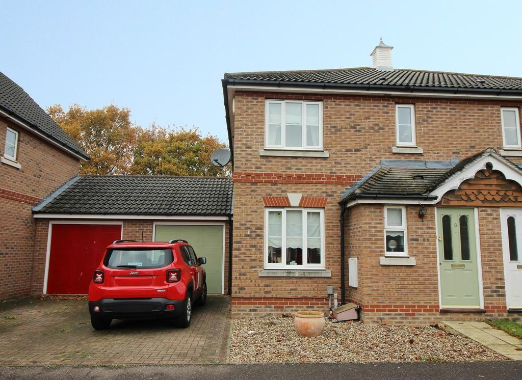 3 Bedrooms Semi Detached House for sale in Tiberius Close, Highwoods, Colchester, Essex, CO4