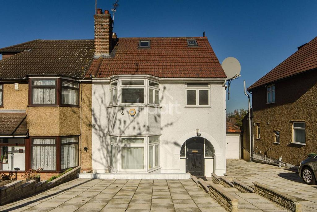 4 Bedrooms Semi Detached House for sale in Paddock Road, NW2