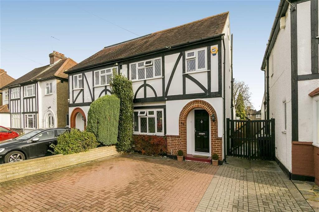 4 Bedrooms Semi Detached House for sale in Pams Way, Ewell Court, Surrey