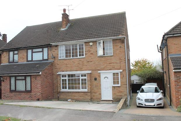 3 Bedrooms Semi Detached House for sale in Grampian Way, Luton, LU3
