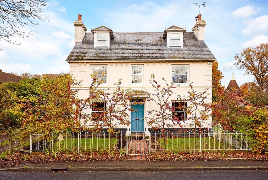 5 Bedrooms Detached House for sale in Maltmans Hill, Smarden, Ashford, Kent, TN27