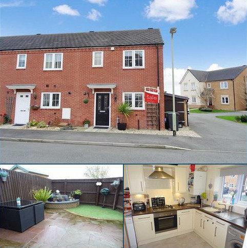 3 bedroom semi-detached house for sale - 22, Mandir Close, Heritage Park, Oswestry, Shropshire, SY11
