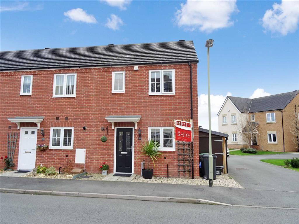 3 Bedrooms Semi Detached House for sale in 22, Mandir Close, Heritage Park, Oswestry, Shropshire, SY11