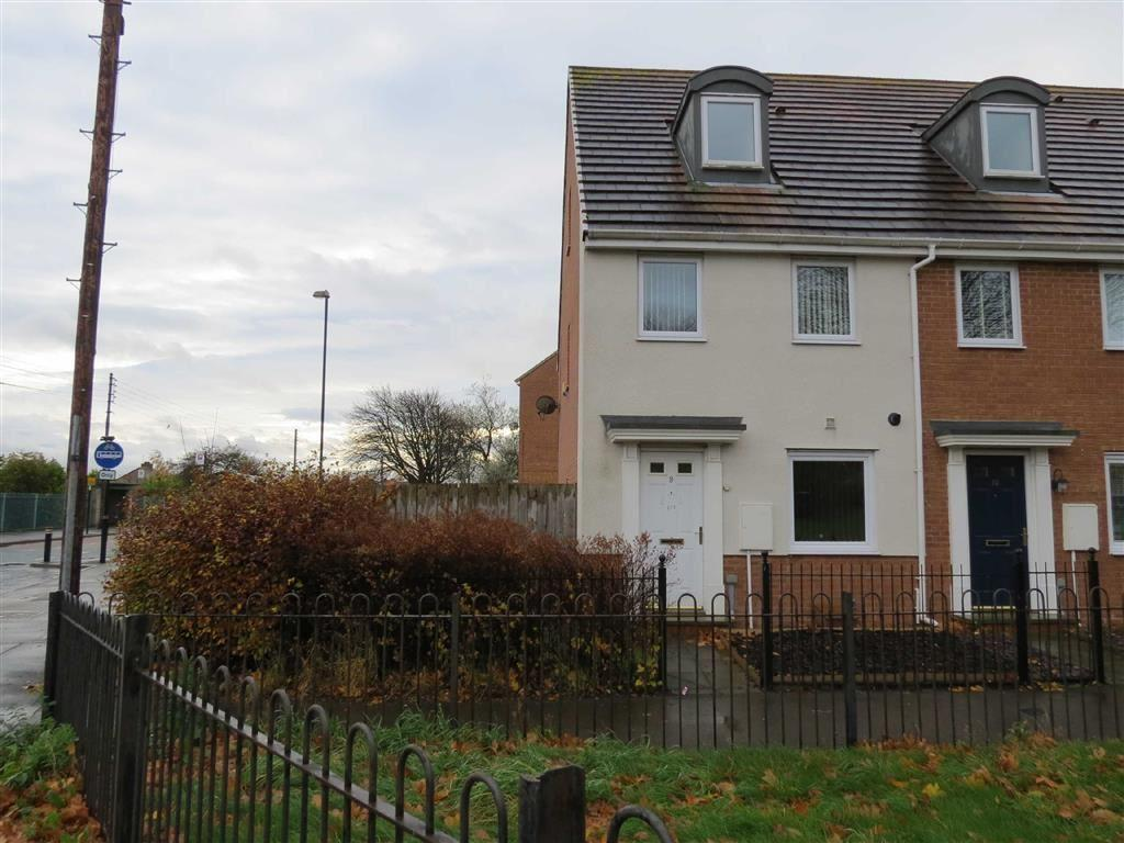 3 Bedrooms End Of Terrace House for sale in Kellett Close, Washington
