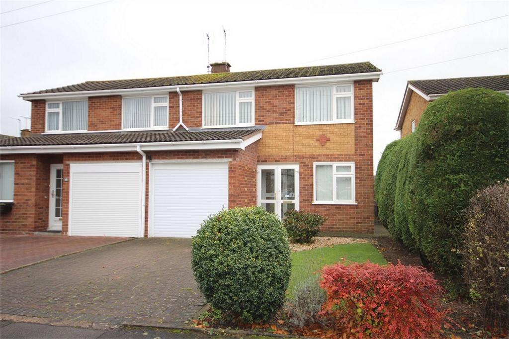 3 Bedrooms Semi Detached House for sale in Grasmere Crescent, St Nicolas Park, Nuneaton, Warwickshire