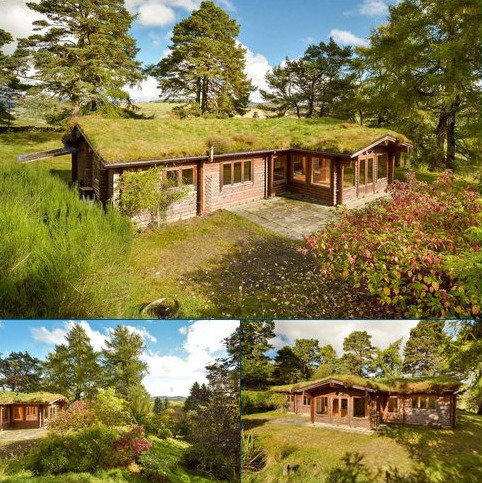 3 bedroom detached bungalow for sale - Balnakilly Log Cabin, Kirkmichael, Blairgowrie, Perthshire, PH10