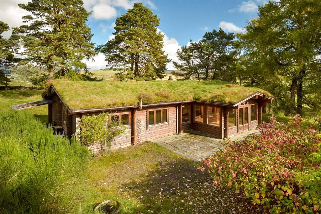3 Bedrooms Detached Bungalow for sale in Balnakilly Log Cabin, Kirkmichael, Blairgowrie, Perthshire, PH10