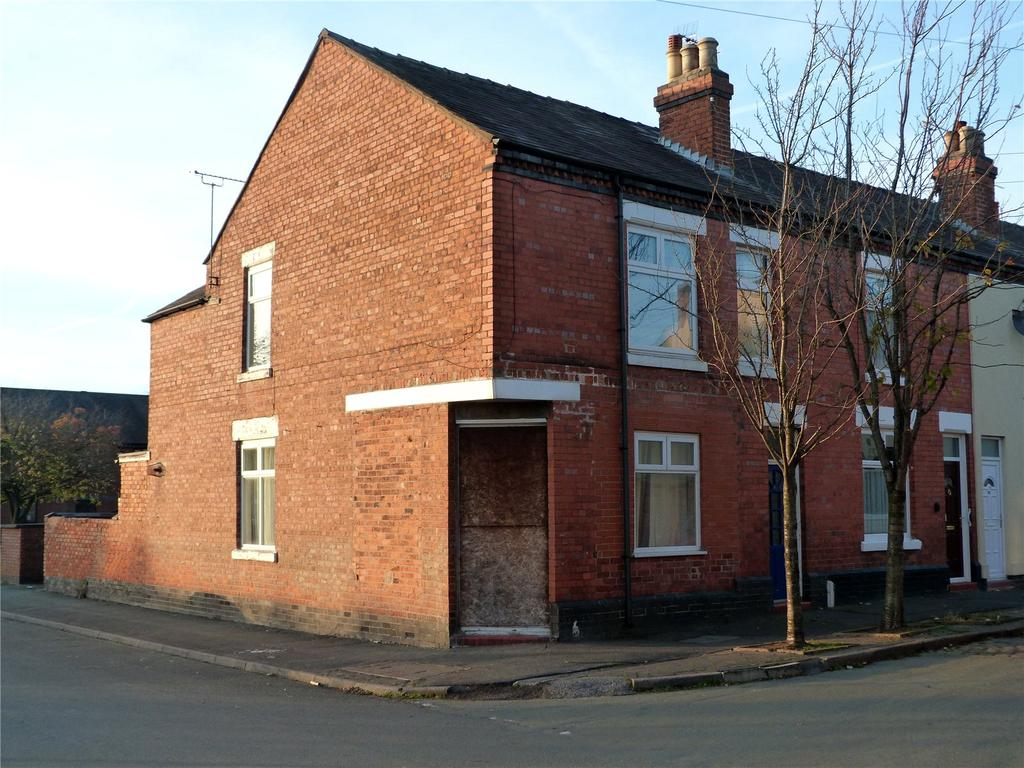 3 Bedrooms End Of Terrace House for sale in Bright Street, Crewe, Cheshire, CW1