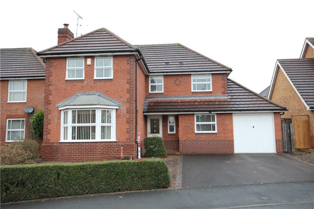 4 Bedrooms Detached House for sale in St. Margaret Road, Ludlow, Shropshire, SY8