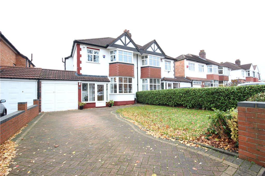 3 Bedrooms Semi Detached House for sale in Reservoir Road, Solihull, West Midlands, B92