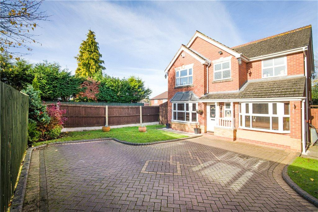 4 Bedrooms Detached House for sale in Parish Gardens, Pedmore, Stourbridge, West Midlands, DY9