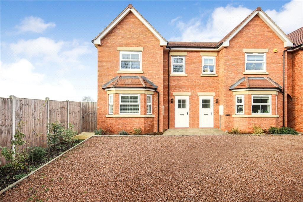 3 Bedrooms End Of Terrace House for sale in Coventry Terrace, Station Road, Pershore, Worcestershire, WR10