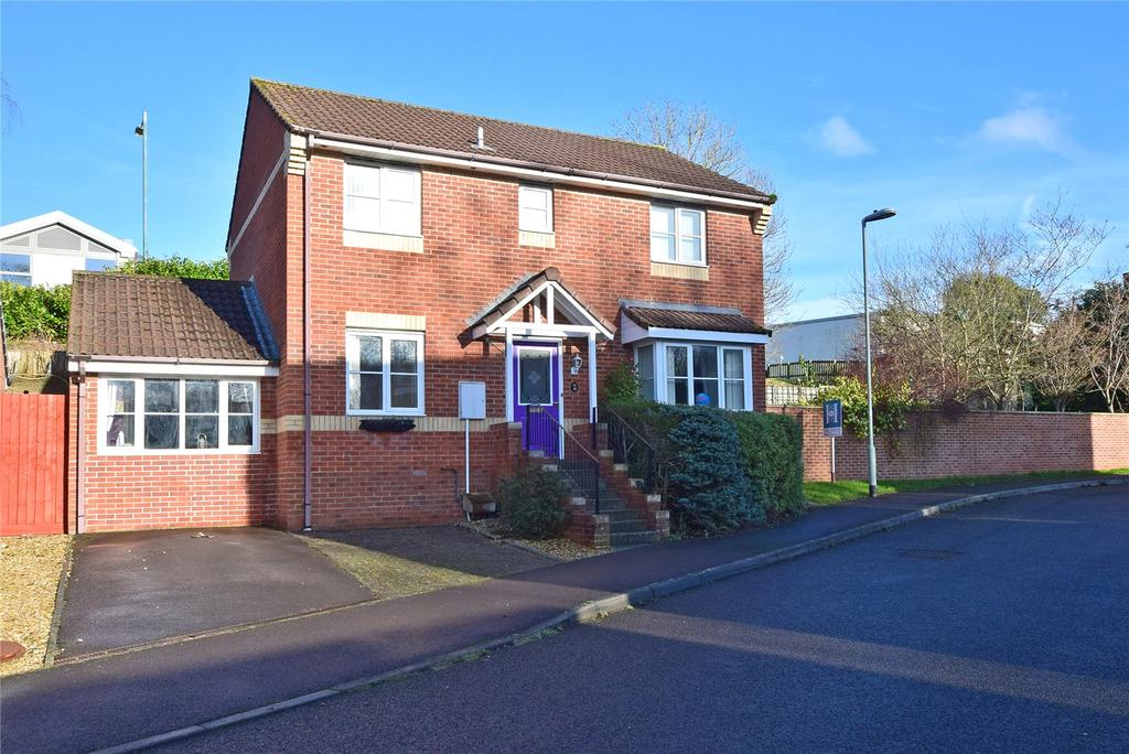 4 Bedrooms Detached House for sale in Riverside Close, Honiton, Devon