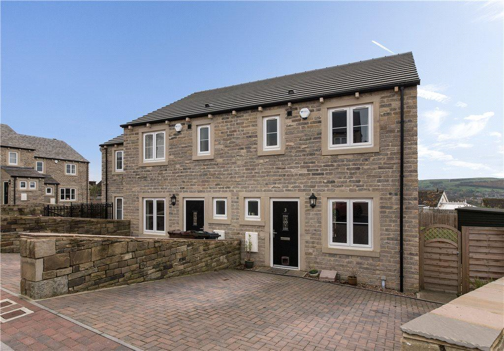 3 Bedrooms Terraced House for sale in High Dale Rise, Silsden, Keighley, West Yorkshire