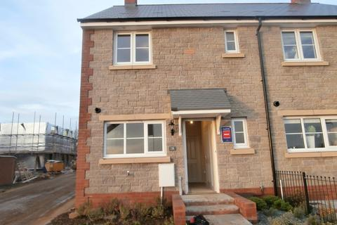 3 bedroom semi-detached house to rent - 120 Ffordd y Draen, Parc Derwen.Coity, CF35 6DQ