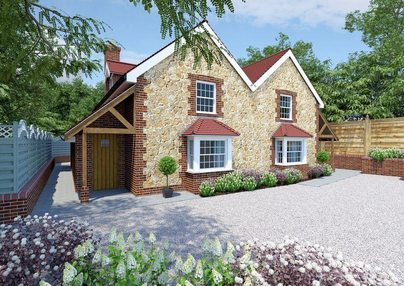 2 Bedrooms Semi Detached House for sale in Pine Cottages, Briar Wood, Liss Forest